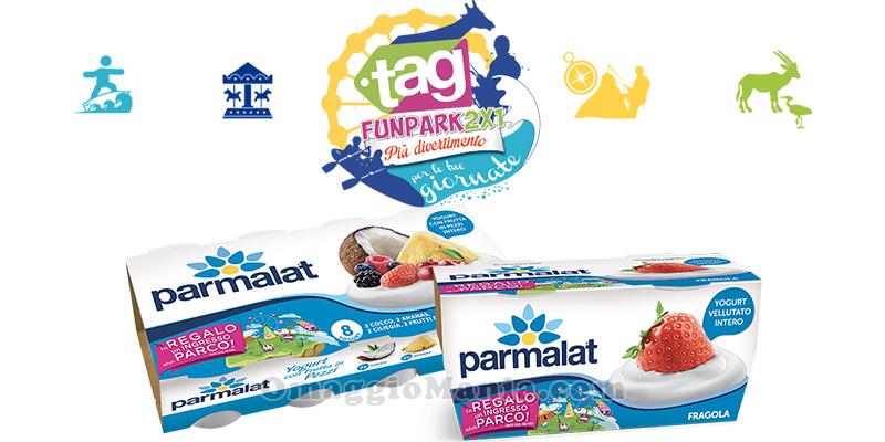 ingresso parchi 2x1 con Parmalat