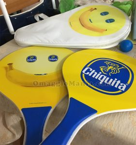 kit beach tennis Chiquita di Nunzia