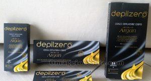 kit di prodotti Depilzero di Monika