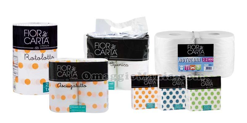 kit prodotti omaggio Fior di Carta Lifestyle