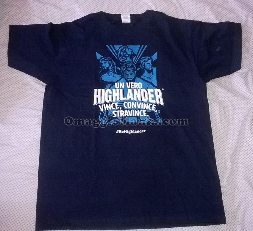 maglietta Highlander di Stefano