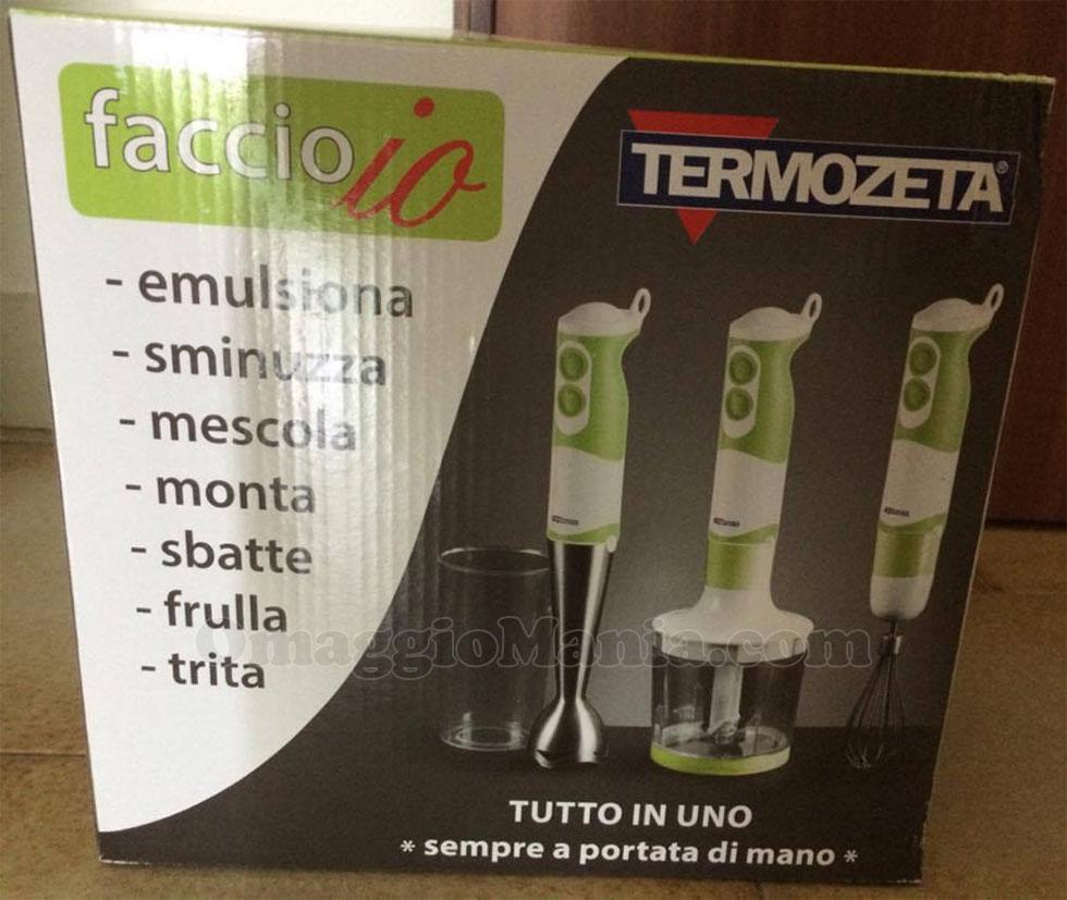 mixer Termozeta di Elisa con Loacker