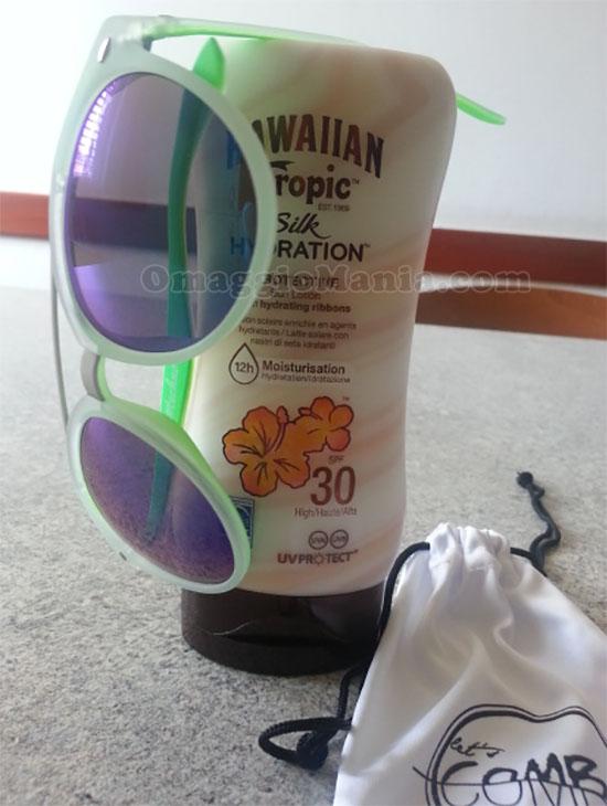 occhiali da sole con Hawaiian Tropic di Sabry77