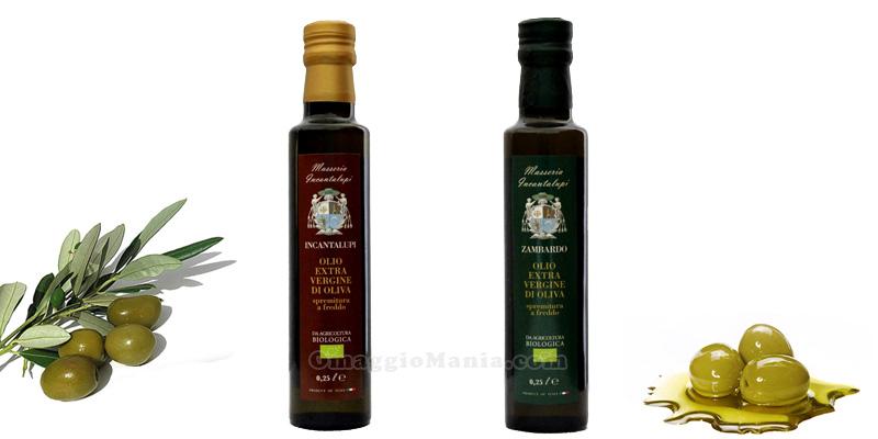 olio extravergine di oliva BIO Intantalupi Zambardo