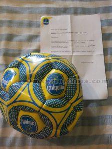 pallone Chiquita di Valeria