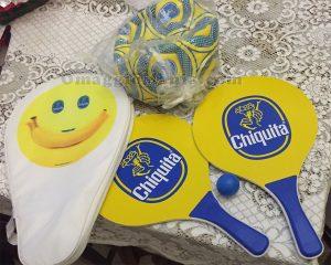 pallone e racchette Chiquita di Antonella