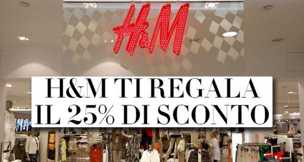 sconto H&M 25