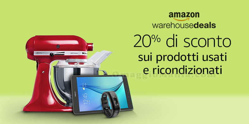 sconto Prime Day Amazon Warehouse Deals