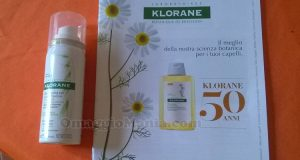 shampoo secco Klorane di Ginevra
