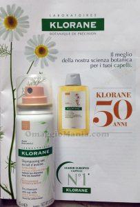 shampoo secco Klorane di Marsala90
