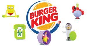 sorprese Spongebob da Burger King