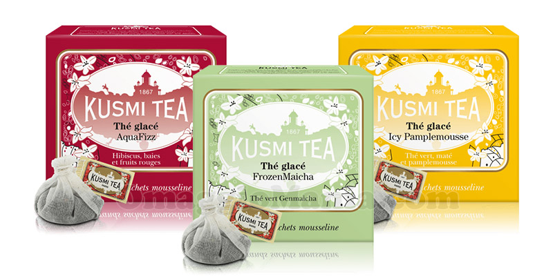 tè freddo di Kusmi Tea