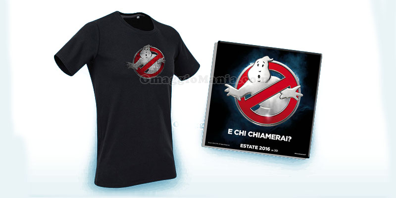 t-shirt e magneti Ghosbusters