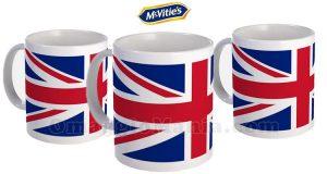 tazza British omaggio da McVitie's