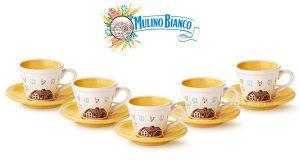 tazzine caffè Mulino Bianco