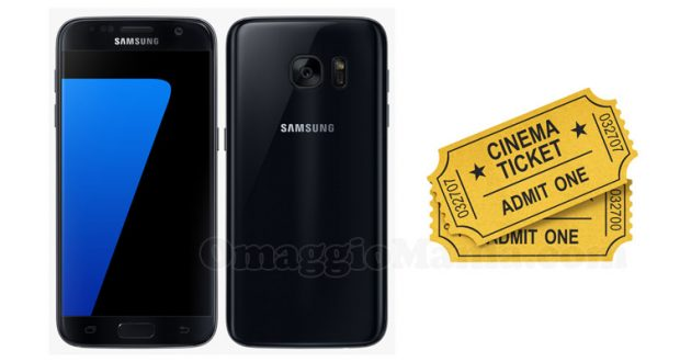 vinci Samsung Galaxy S7 o buoni cinema