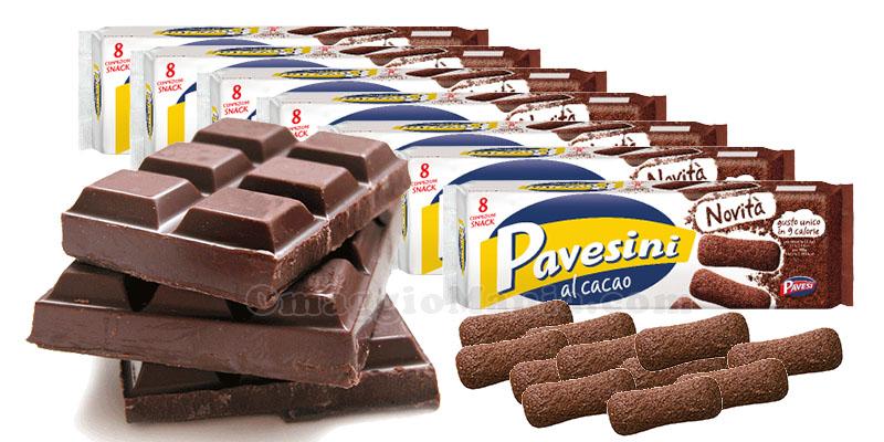 vinci cioccolato e Pavesini al Cacao con Eurochocolate