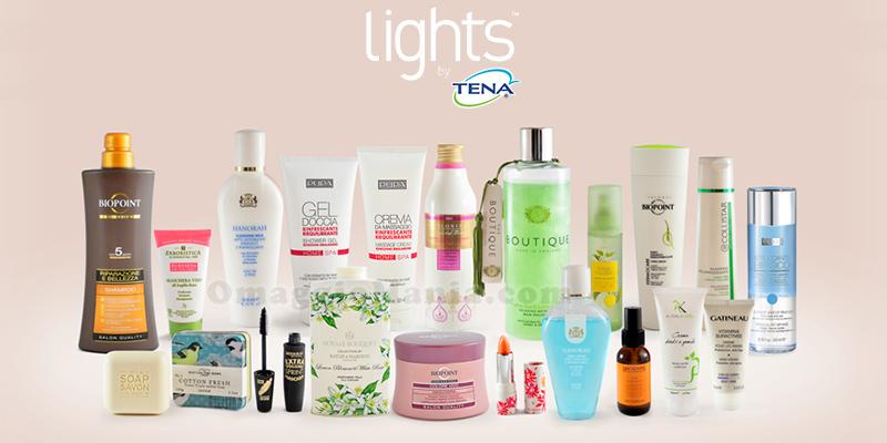 vinci kit bellezza con TENA
