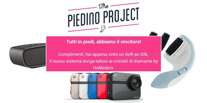 vincitori The Piedino Project