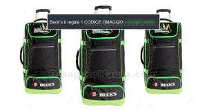Beck's ti regala 1 codice omaggio