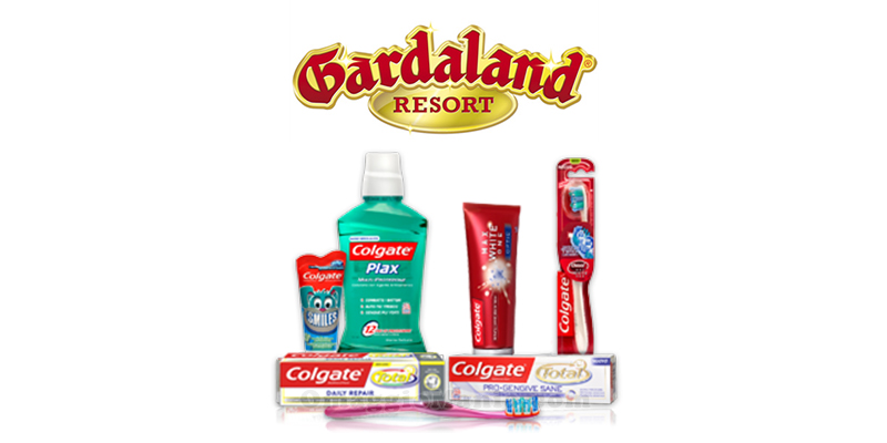 Colgate ti regala Gardaland 2016