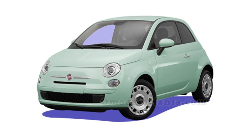 FIAT 500 con Matilde Vicenzi