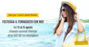 Fastweb Mobile chiamate gratis fino a Ferragosto