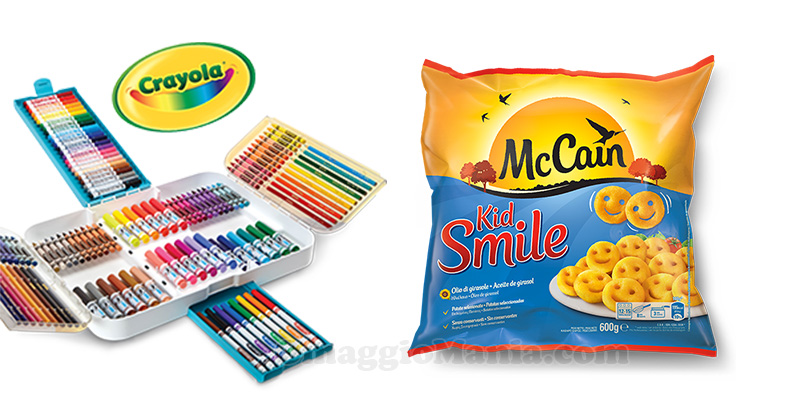 Festeggia a colori con McCain