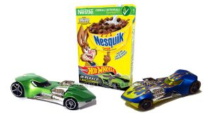 Hot Wheels omaggio con Nesquik Cereali