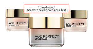 L'Oréal Age Perfect selezione test