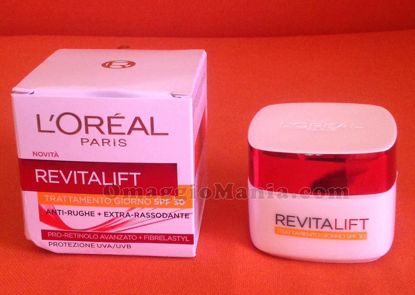 L'Oréal Revitalift SPF30 di Tiziana