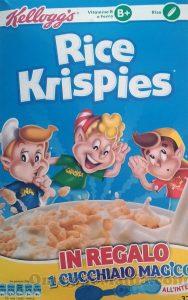 Rice Crispies con Cucchiaio Magico Kellogg's di Katia