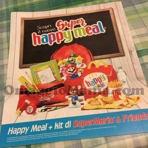 Super Happy Meal McDonald's volantino
