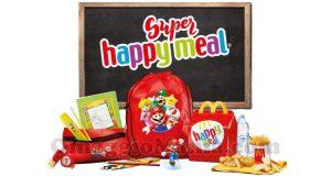 Super Happy Meal kit scuola Super Mario & Friends