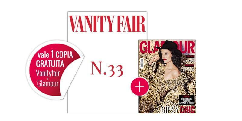 Vanity Fair 33 e Glamour 291