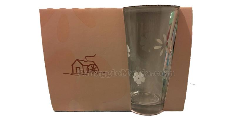 bicchiere in vetro Mulino Bianco