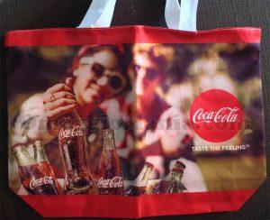 borsa mare Coca Cola di Tatiana