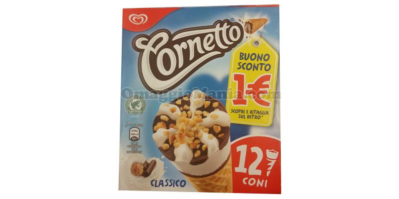 buono sconto Cornetto Algida