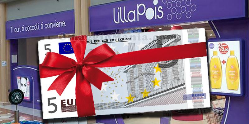 buono sconto LillaPois 5 euro