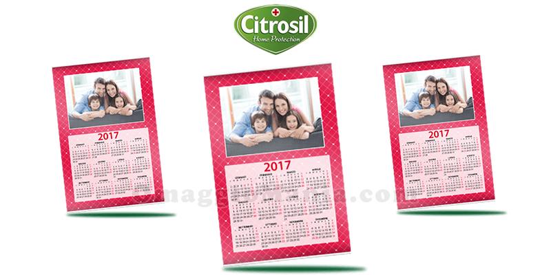 calendario personalizzato omaggio con Citrosil