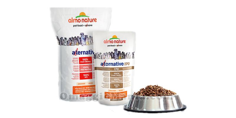 campioni omaggio Almo Nature Alternative