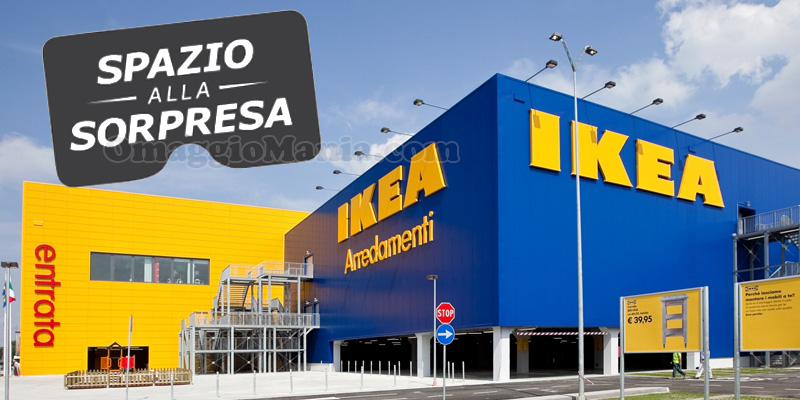 concorso IKEA Spazio alla sorpresa