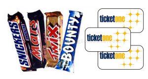 concorso Twix & TicketOne