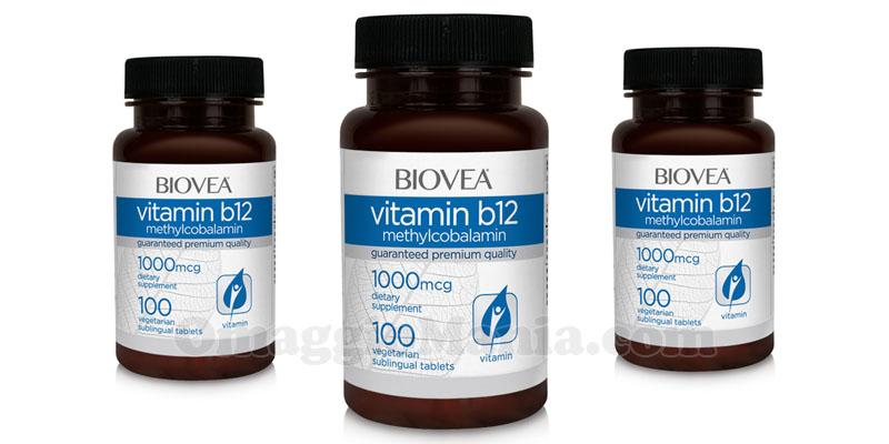 confezione compresse vitamine B12 Biovea