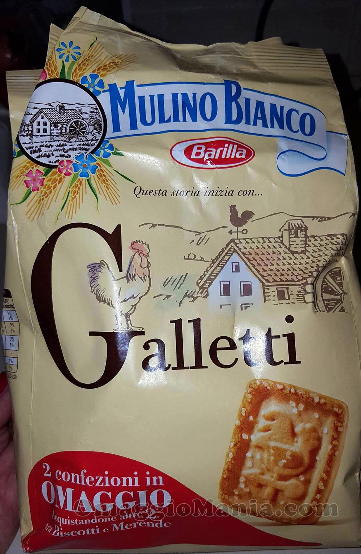 confezione omaggio di Galletti Mulino Bianco di Chiara