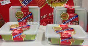contenitore Pyrex omaggio con tonno Consorcio