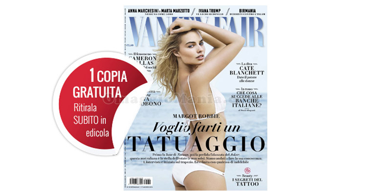 coupon copia omaggio Vanity Fair 32