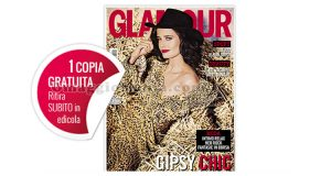 coupon copia omaggio rivista Glamour 291
