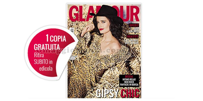 coupon copia omaggio rivista Glamour 291