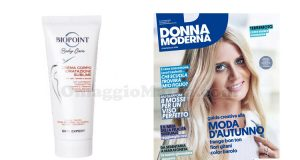 crema corpo Biopoint idratazione sublime con Donna Moderna